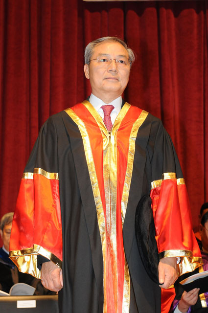 The 11th Honorary Fellowship Conferment Ceremony<br><br>Mr. Fung Siu-to Clement