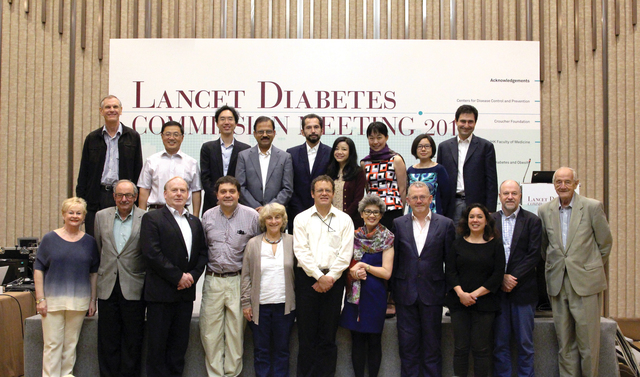CUHK Coordinates The Lancet—Clinical Diabetes Commission Meeting