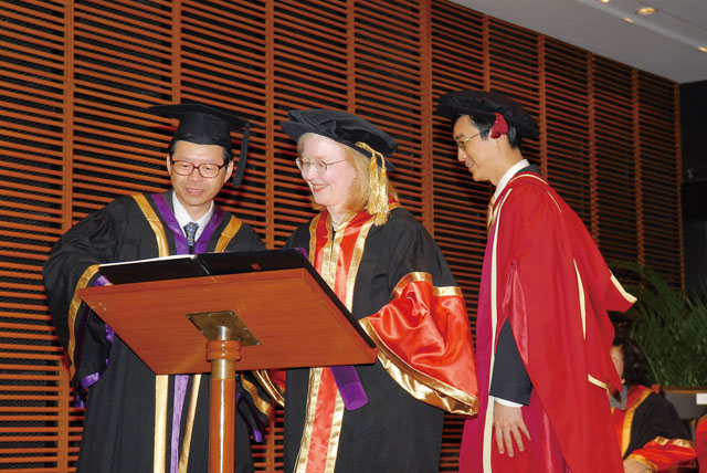 6th Honorary Fellowship Conferment Ceremony<br><br>Dr. Nancy E. Chapman