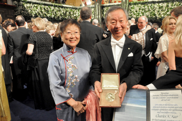 Professor Kao wins the 2009 Nobel Prize in Physics