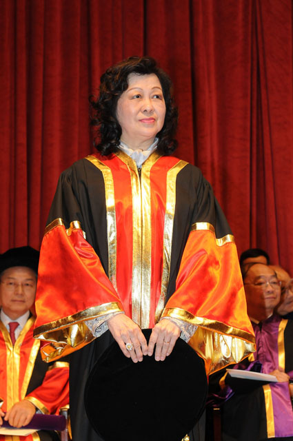 The 11th Honorary Fellowship Conferment Ceremony<br><br>Prof. Jin Sheng-hwa Serena