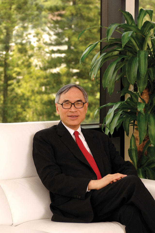Vice-Chancellor Prof. Lawrence J. Lau (2004–2010)