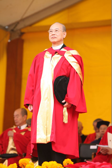 The 64th Congregation<br><br>Honorary doctorate the Most Reverend Dr. Kwong Kong-kit, Peter