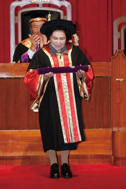 6th Honorary Fellowship Conferment Ceremony<br><br>Ms. Mok Sau-hing