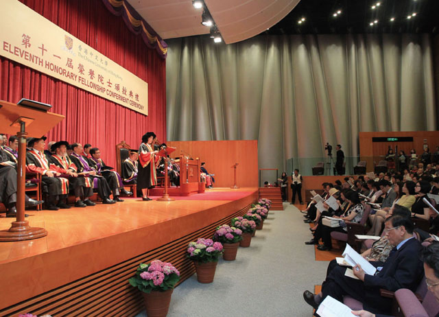 The 11th Honorary Fellowship Conferment Ceremony<br><br>Six Distinguished Persons Appointed Honorary Fellows