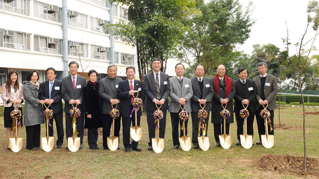 The Department of Japanese Studies celebrated its 20th anniversary by joining New Asia College to plant 20 cherry trees on the College's campus on 28 February 2012.