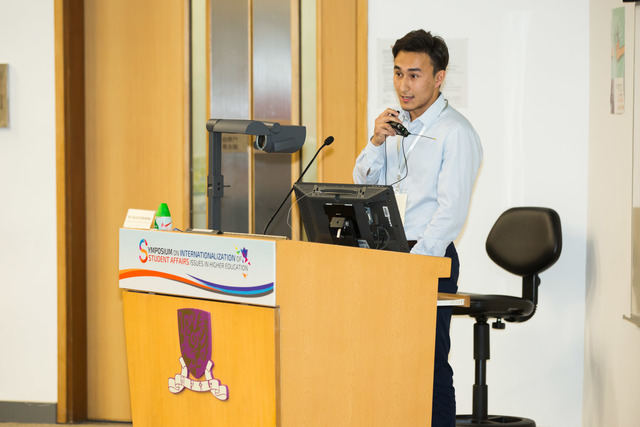 Kyrgyz student Kairat Eshbolotov shares his learning experience