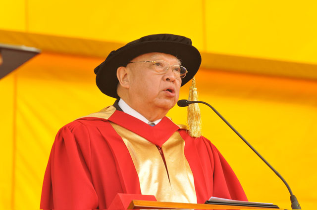 The 64th Congregation<br><br>Honorary doctorate Tung Chee-hwa