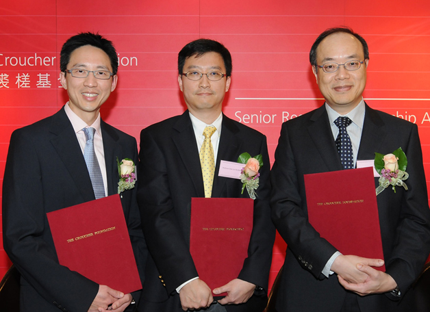 Three academics were made Senior Research Fellows by the prestigious Croucher Foundation in March 2011 for their respective achievements in computer science and medical research.