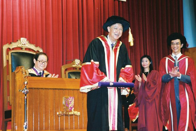 Conferred Honorary Fellowship by CUHK