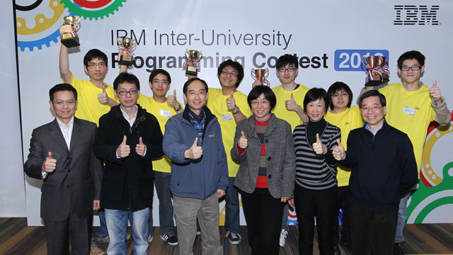 Two teams comprising six students of the Department of Computer Science and Engineering snatched both the championship and the second runner-up position in the IBM Inter-University Programming Contest 2012 on 11 February 2012.