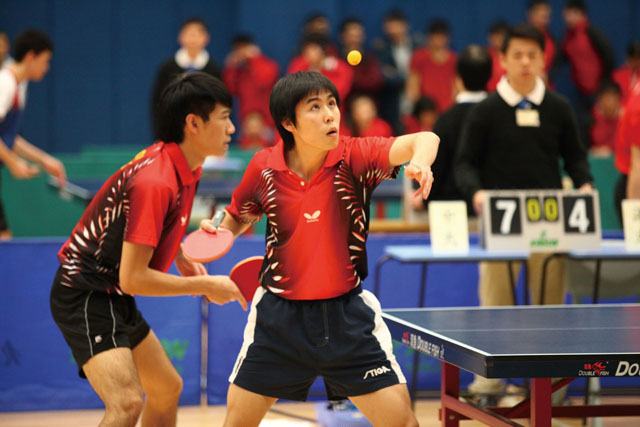 Table Tennis Teams Win Championships<br><br>The CUHK men's and women's table tennis teams clinched the championships in the 2012–13 Inter-university Men's and Women's Table Tennis Competitions held on 3 March at the Lingnan University.