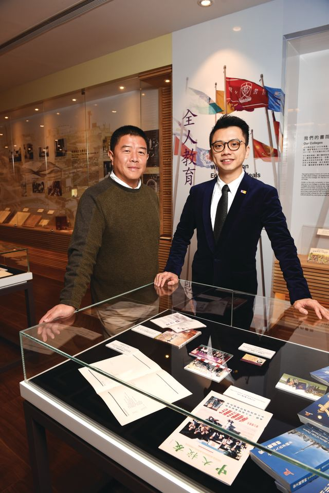 Stephen Li (left), Jeffrey Hui (right)