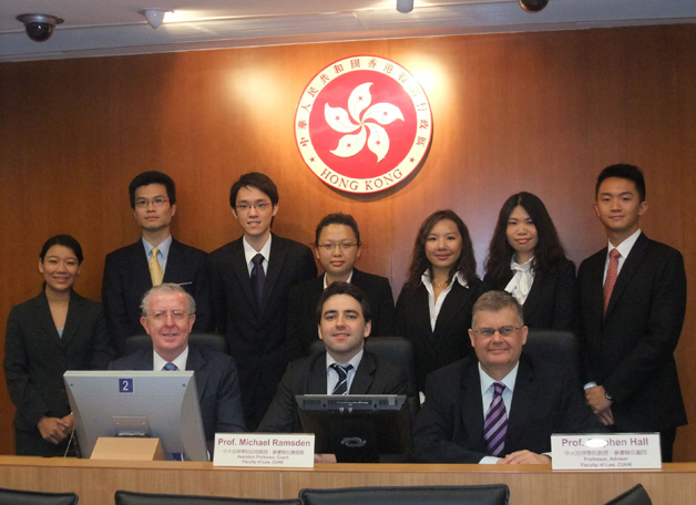 CUHK law students made wonderful achievements at the Jessup Moot, widely held to be the most important student moot competition in the world. The CUHK team represented Hong Kong at the event in Washington DC in June 2010 and won the much coveted Hardy C. Dillard Award for writing the best memorials.