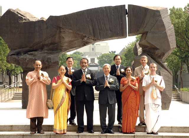 Professorship in Indian Religions and Culture<br><br>Group photo