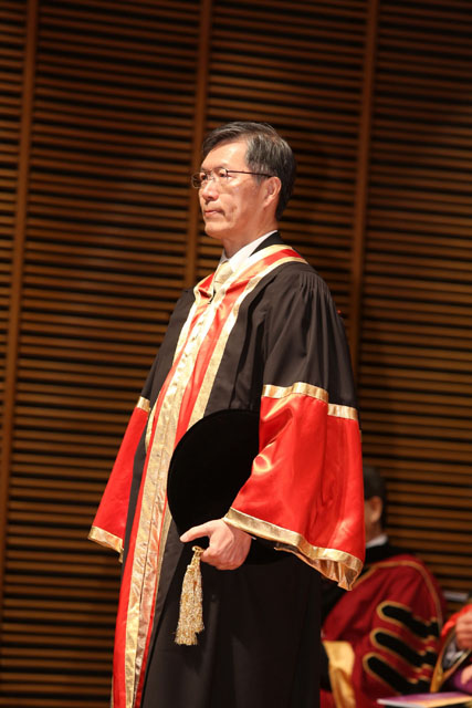 The 12th Honorary Fellowship Conferment Ceremony<br><br>Prof. Lee Kam-hon