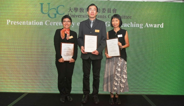 From left: Prof. Leung Mei-yee, Dr. Wong Wing-hung and Dr. Julie Chiu